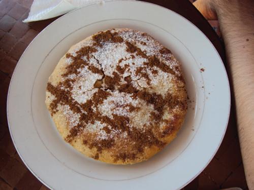 Pastilla au poulet (Kasbah Cafe -Marrakech)