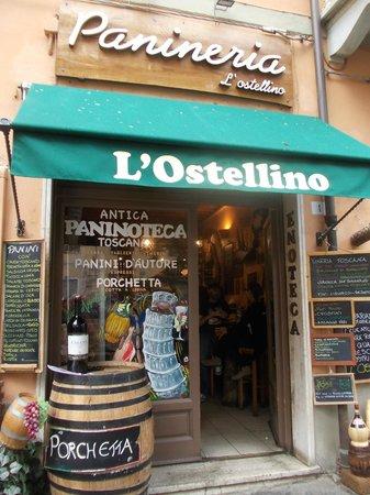 L'Ostellino : idéal pour manger sur le pouce Pise