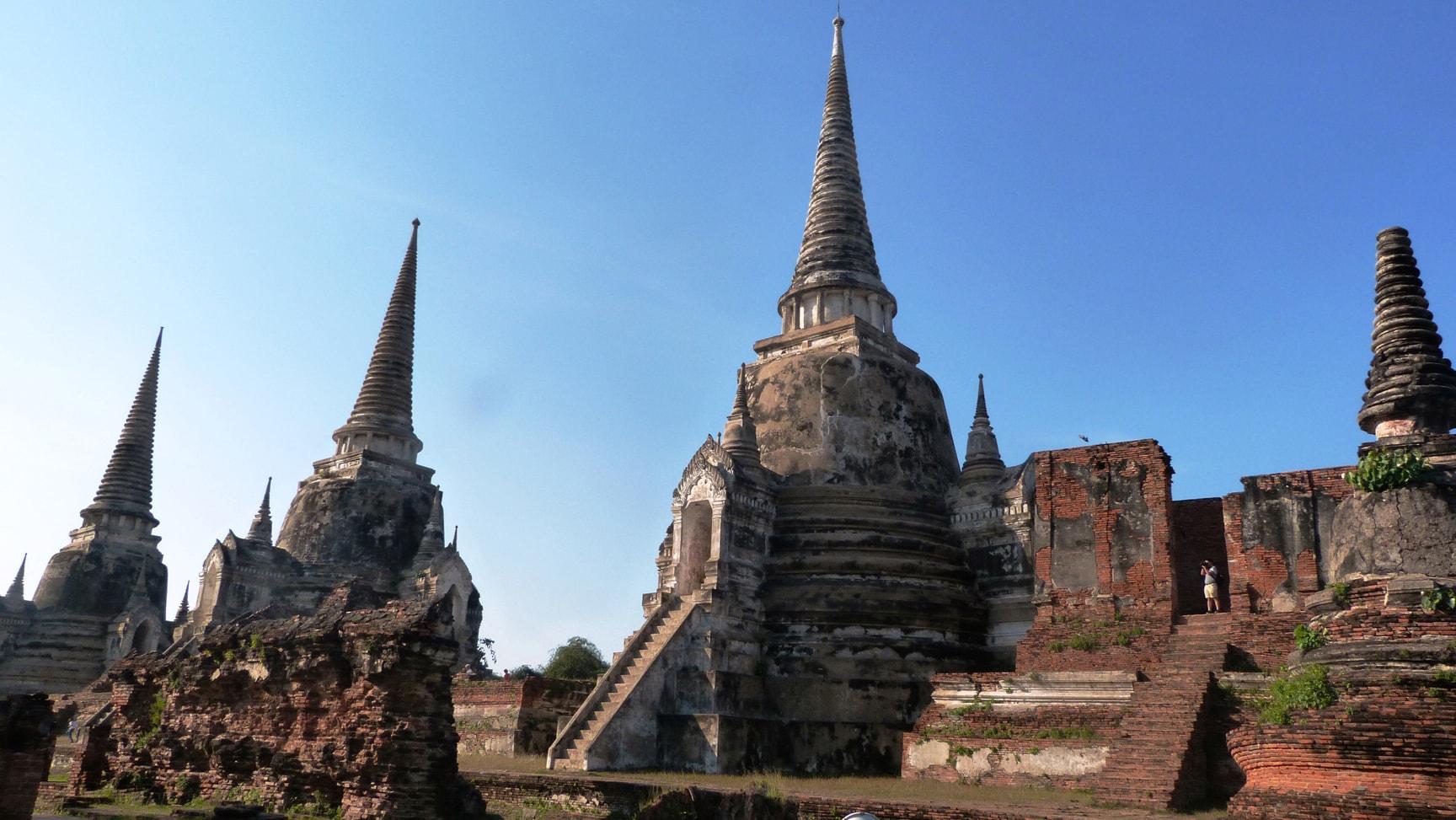 temples Ayutthaya thailande