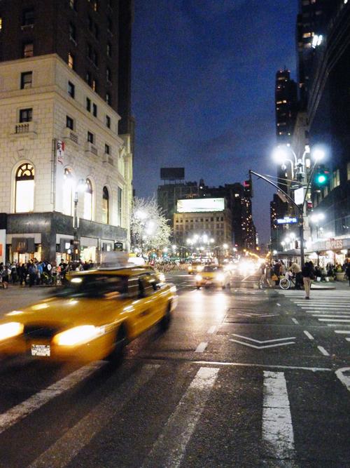 Visite de New York - Taxis de New York