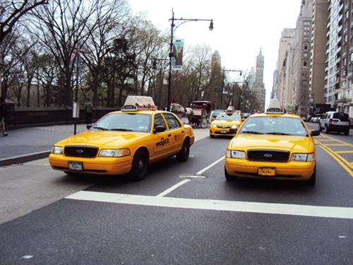 Les taxis jaunes de New York (USA)