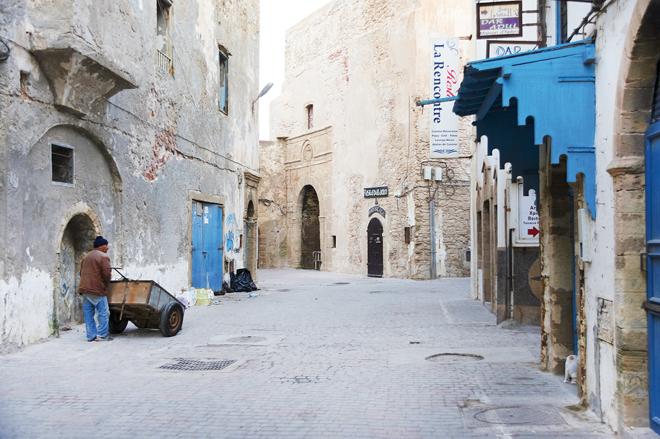 La petite médina d'Essaouira