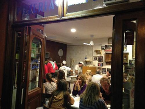 Pizzeria Da Bafeto à Rome (Italie)