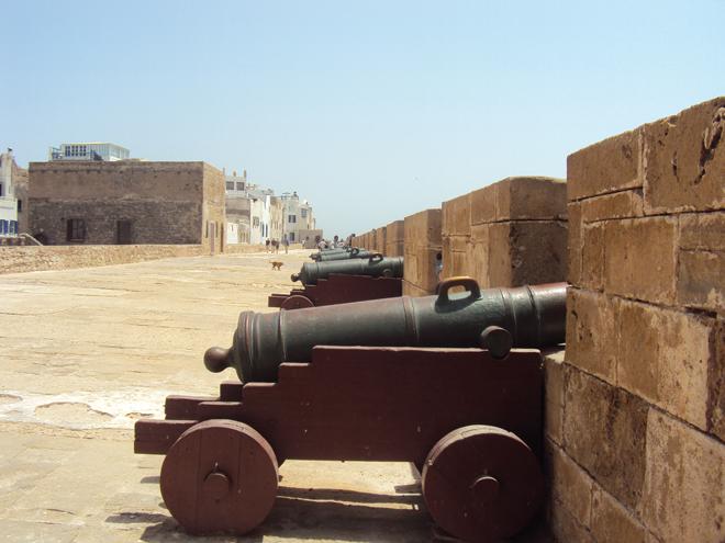 La skala de la kasbah d'Essaouira au Maroc