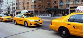 Les taxis jaunes de la ville de New York, un emblème !