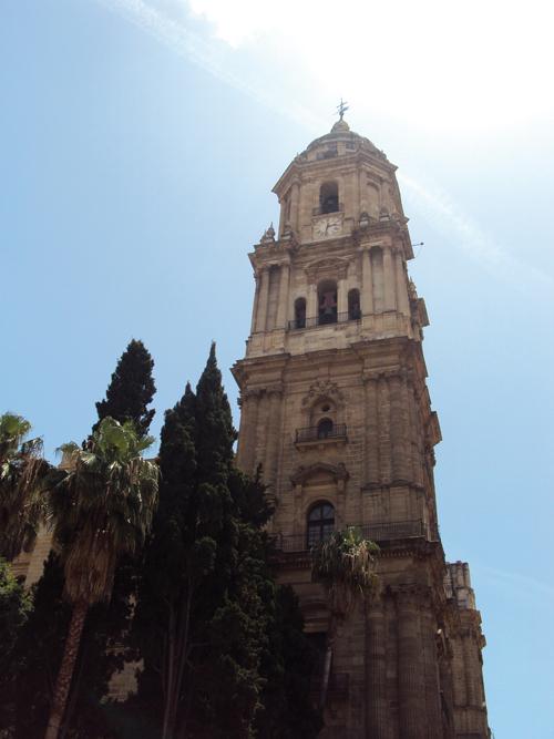 la cath u00e9drale de malaga  andalousie-espagne