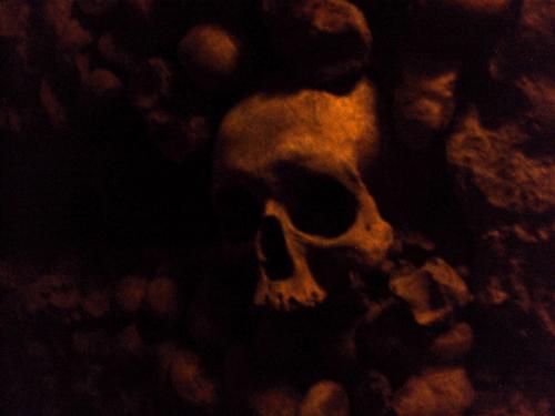 L'ossuaire des Catacombes de Paris