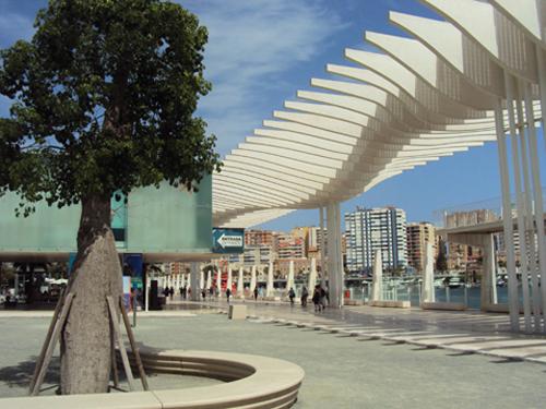 Le paseo de Malaga (Andalousie-Espagne)