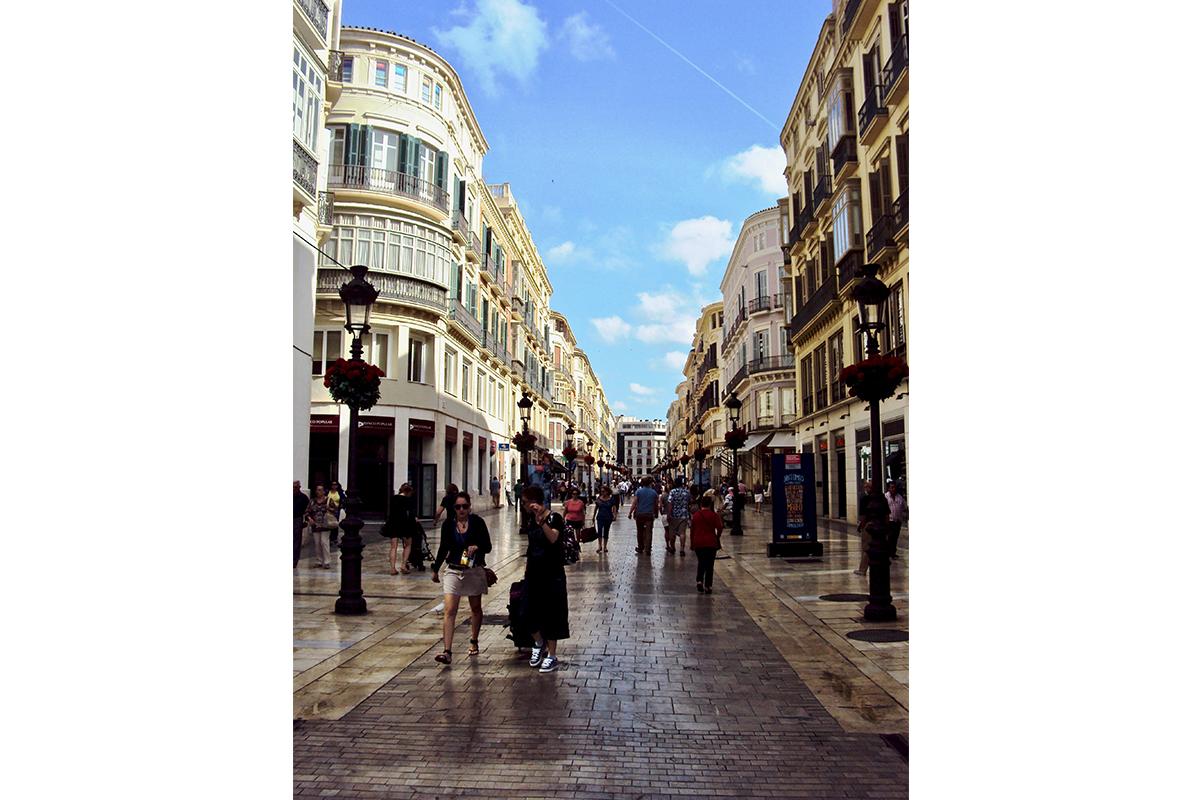 Centre ville Malaga Roadtrip Andalousie Espagne