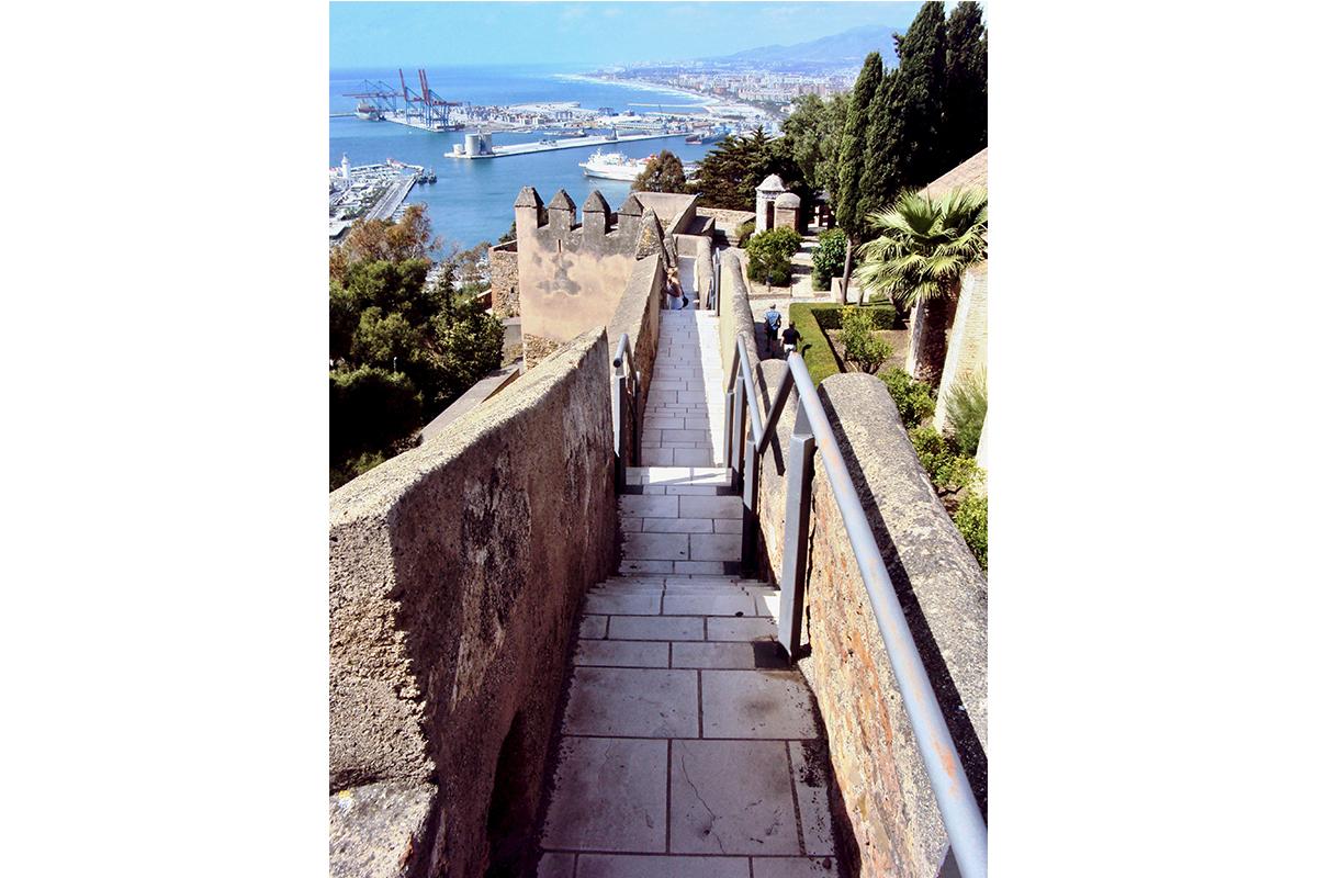 Remparts Gibralfaro Malaga Roadtrip Andalousie Espagne