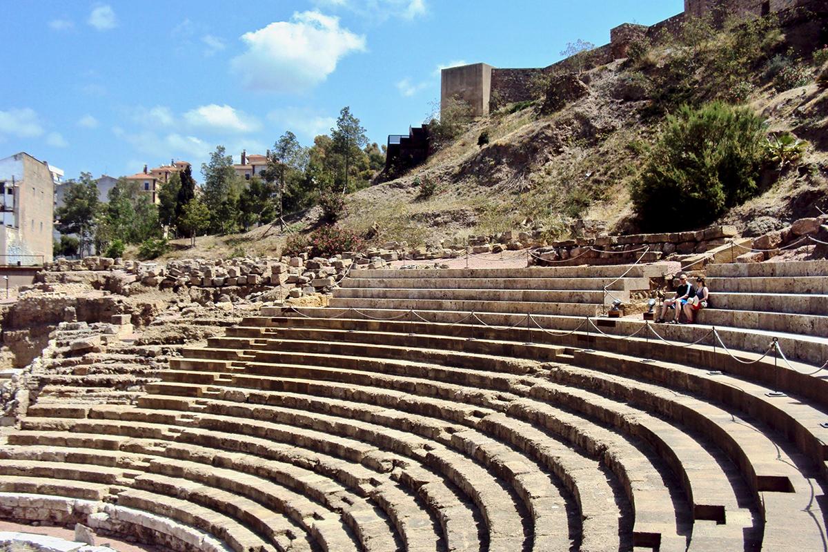 Theatre Alcazaba Malaga Roadtrip Andalousie Espagne