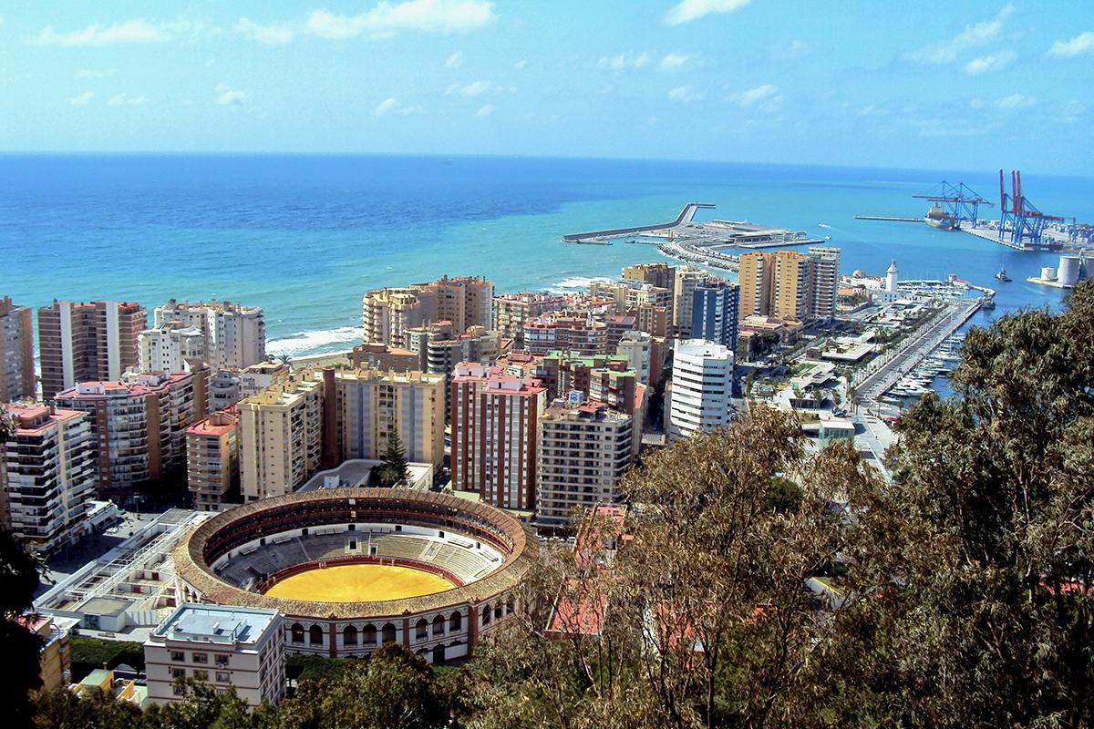 Ville Malaga Roadtrip Andalousie Espagne