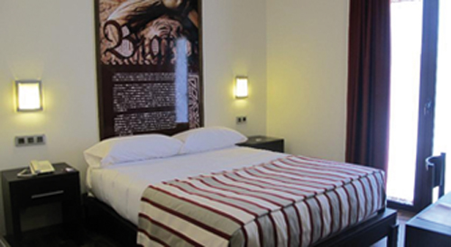 L'hôtel Aznaitin à Baeza (Andalousie-Espagne)