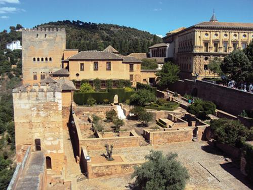 L'Alhambra de Grenade (Andalousie-Espagne)