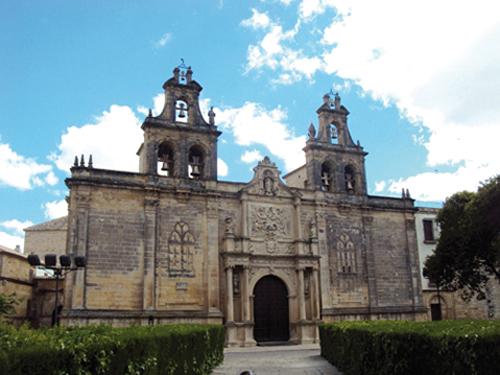 La Real Colegiata de Santa María la Mayor de los Reales Alcázares à Úbeda (Andalousie, Espagne)