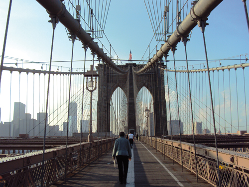 Brooklyn Bridge Pont de New-York NYC
