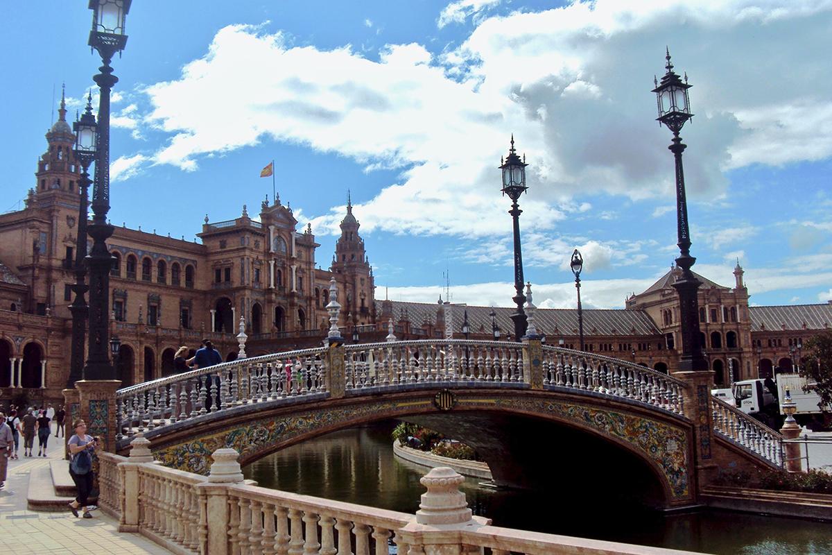 Pont parc Maria Luisa Seville Roadtrip Andalousie Espagne road trip en Andalousie