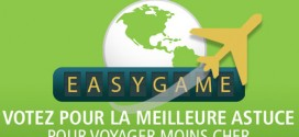 Easygame jeu concours voyager moins cher