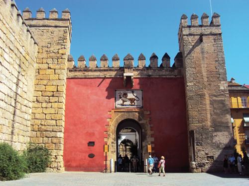 L'Alcazar de Séville (Andalousie-Espagne)