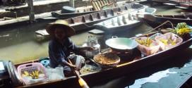 Le marché flottant authentique de Bangkok