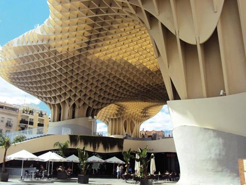 Le Metropol Parasol à Séville (Andalousie-Espagne)