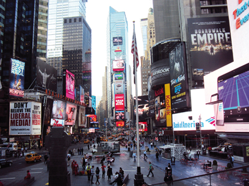 Times Square, New York (Etats-Unis)