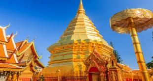 Doi Suthep temple sur les hauteurs de Chiang Mai
