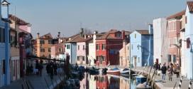Les maisons colorées de Burano près de Venise (italie)