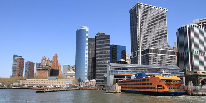 Staten Island Ferry au départ de Manhattan