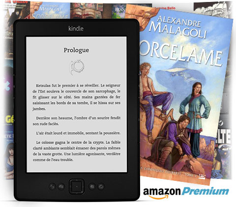 Kindle Amazon 6 pouces