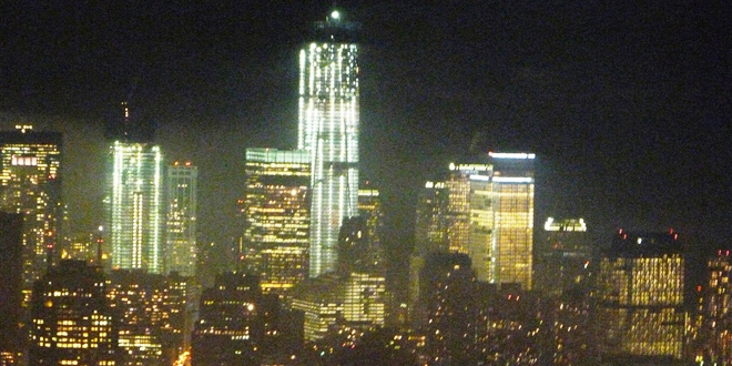 Vue depuis Empire State Building New York