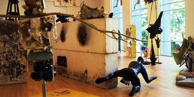 Oeuvres dans le Musée d'Art contemporain de Gand : le SMAK
