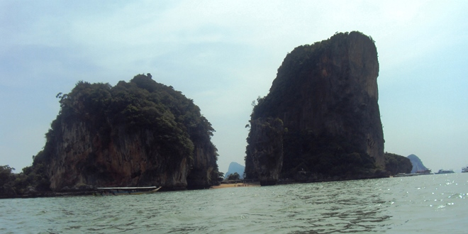 James Bond Island dans la baie de Phang Nga