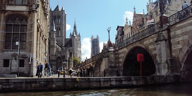 Balade en bateau sur les canaux de Gand