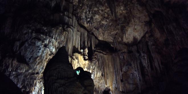 L'intérieur des grottes de Nerja