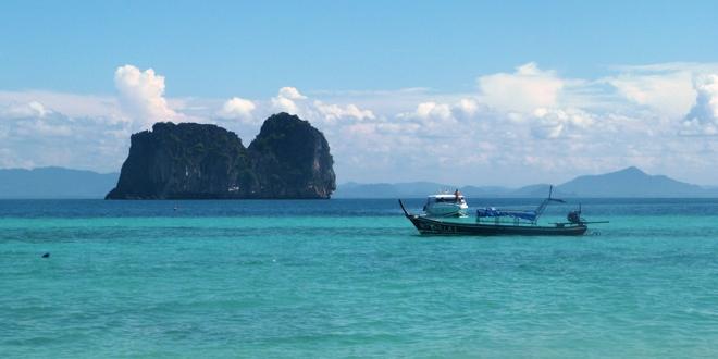 Plage paradisiaque en Thaïlande