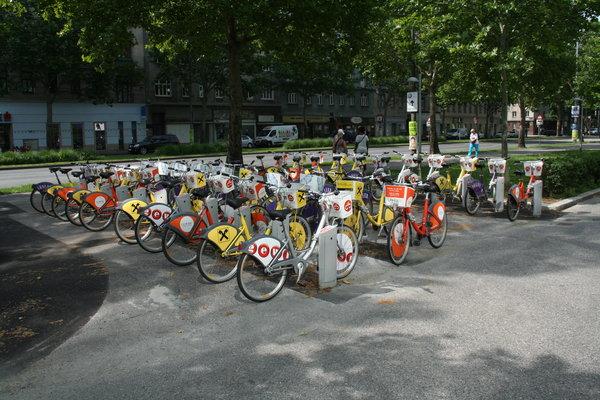 Visiter Vienne en Citybikes