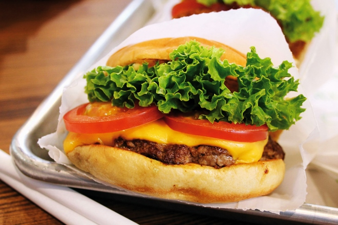 Les meilleurs burgers chez Shake Shack à New York