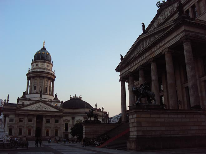 Gendarmenmarkt à Berlin