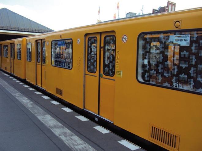 Le S-Bahn à Berlin
