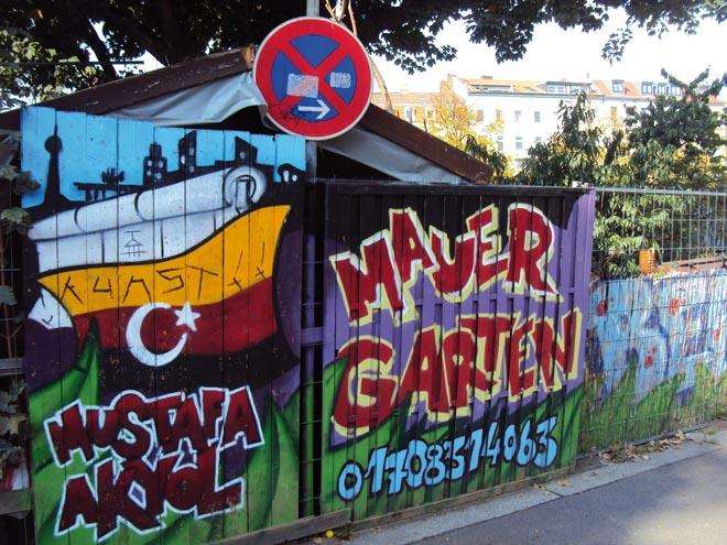 Le jardin de la guérilla, une histoire très forte à découvrir dans le quartier Kreuzberg à Berlin