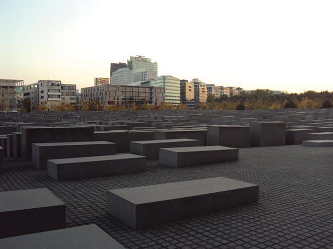 Le mémorial de l'Holocauste à Berlin
