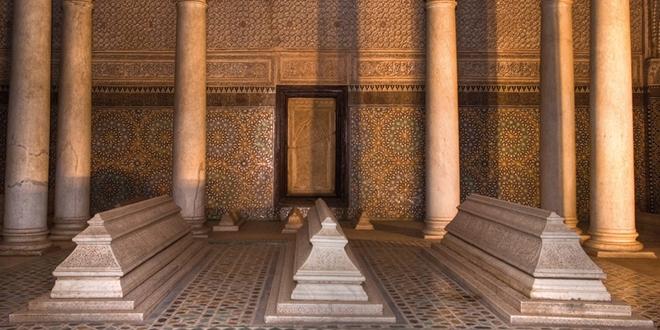 Les tombeaux saadiens à Marrakech