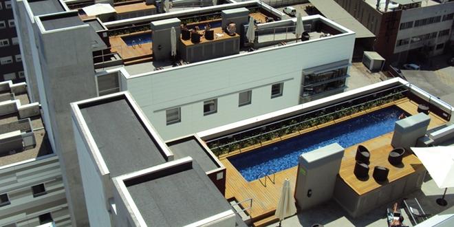 Bon plan logement insolite Barcelone Espagne hôtel résidence