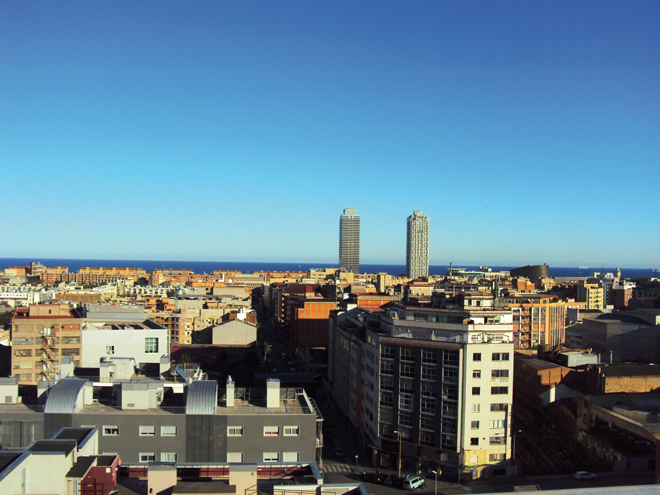 Un emplacement idéal à quelques minutes de la plage de Barcelone...