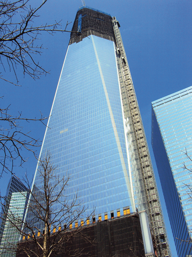 La nouvelle tour One World Trade Center déjà reconstruite à New-York !