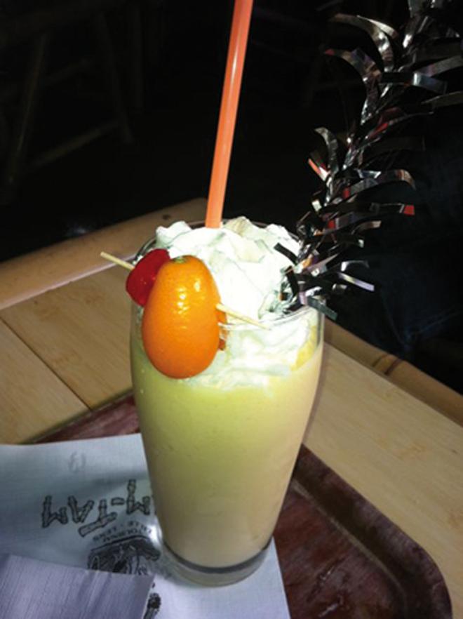 Un délicieux cocktail au TamTam à Lille