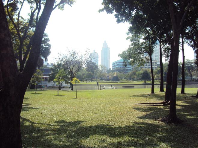 le parc Lumpini au coeur de Bangkok