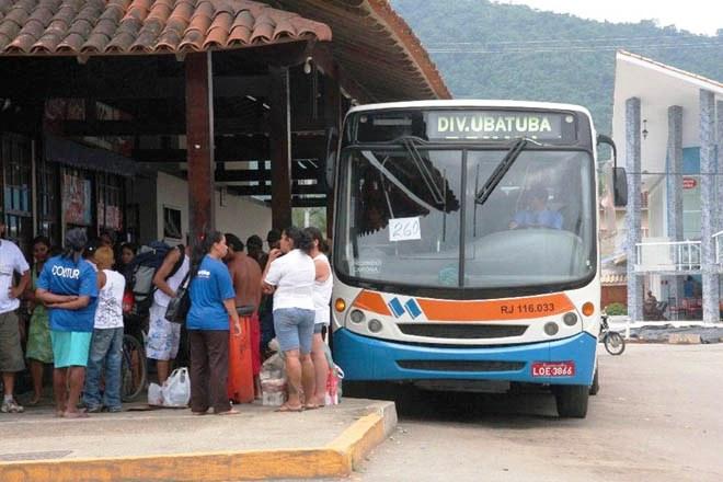 Le 2 eme bus à prendre pour rejoindre Paraty depuis Ubatuba