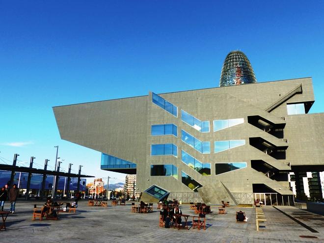 Le musée du Design de Barcelone au pied de la Tour Agbar